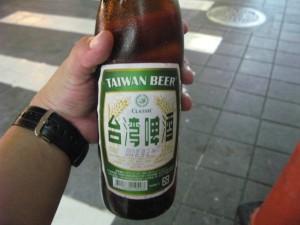 台湾ビールをゲット!