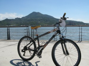 ノリで自転車かりたよおお!