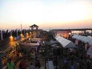 夕方の漁人碼頭