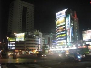 台中駅、駅前