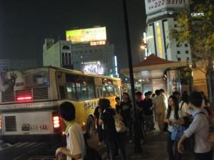 台中駅バス停