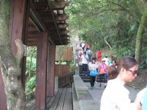 玄光寺へ通ずる階段
