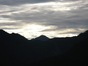 2600mからの風景を見れるなんて