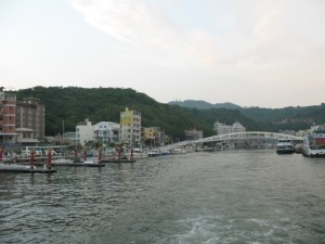台湾では気軽に船に乗れるので凄く良い・・・