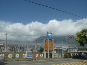 山には雲かかってるけど大丈夫かな・・・